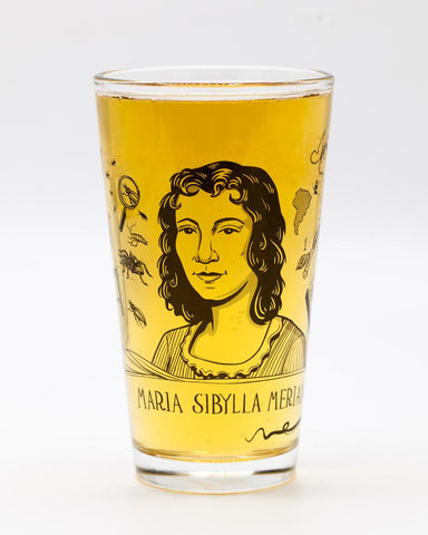 Maria Sibylla Merian Pint Glass