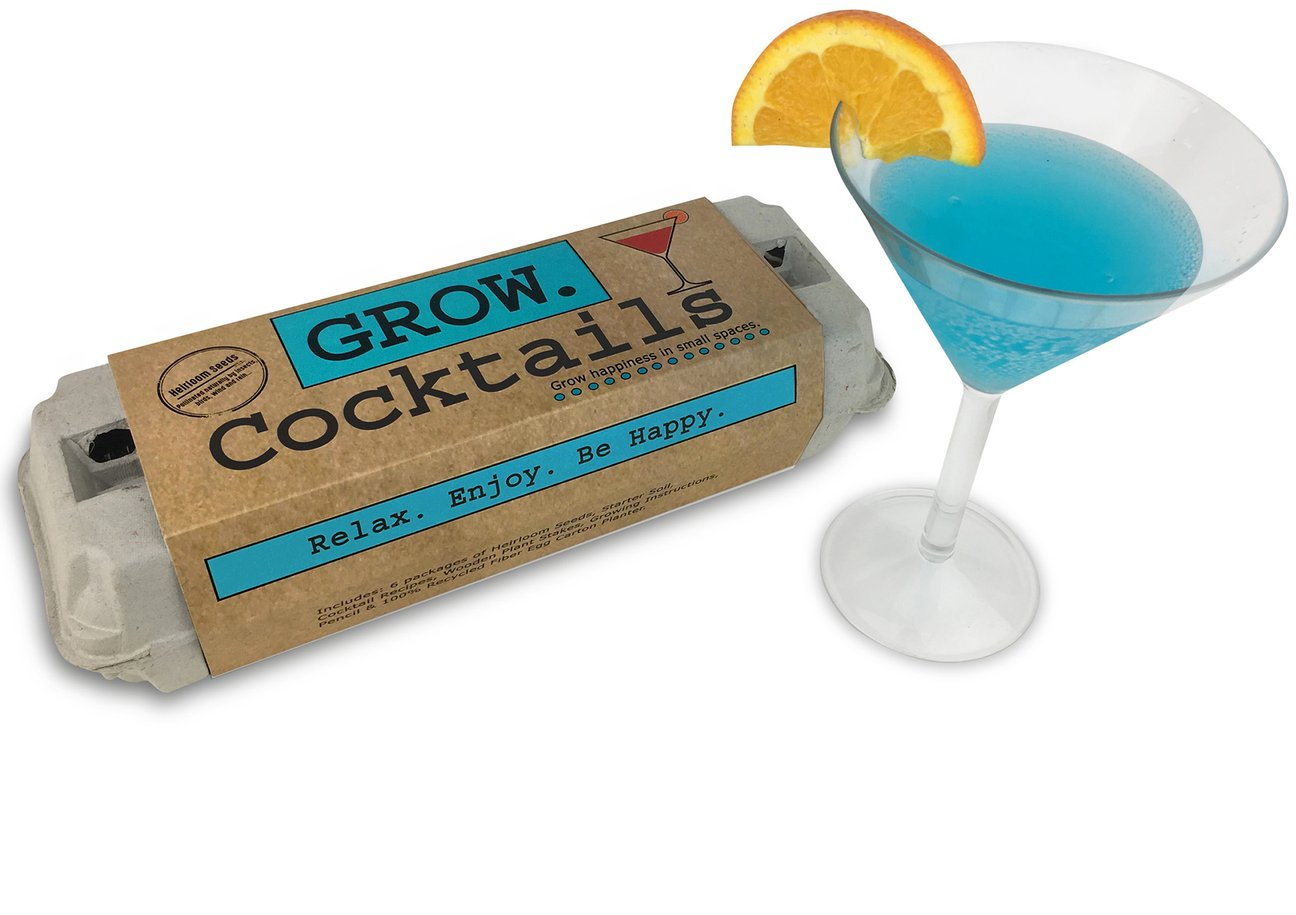 GROW Cocktails Seed Kit