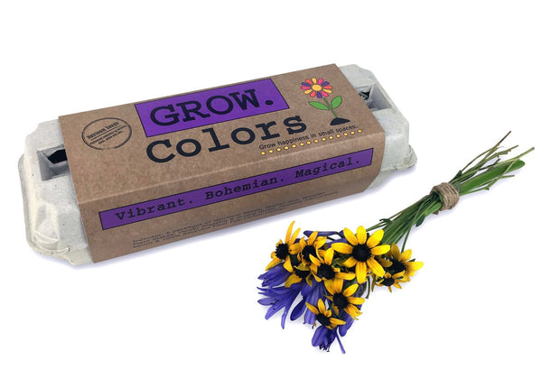 GROW Colors Flower Garden Seed Kit