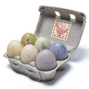 French Egg Soaps - Carton of Six