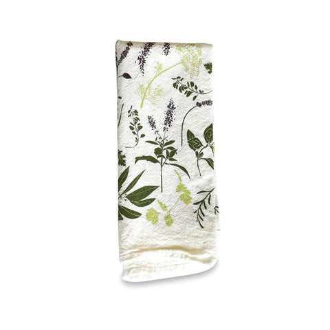 Herb Sprigs Napkins - Set of 4