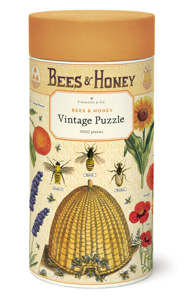 Bees & Honey Vintage Puzzle