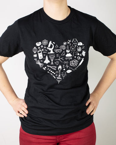 Science is Love Graphic Tee