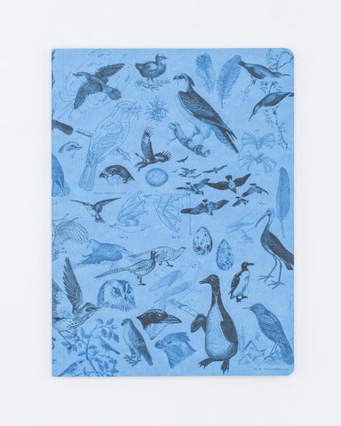 Birds Softcover Notebook - Lined