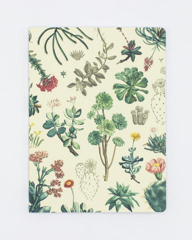 Succulents Softcover Notebook - Lined