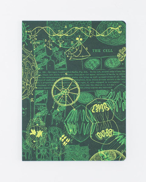 Cell Biology Softcover Notebook - DOT GRID