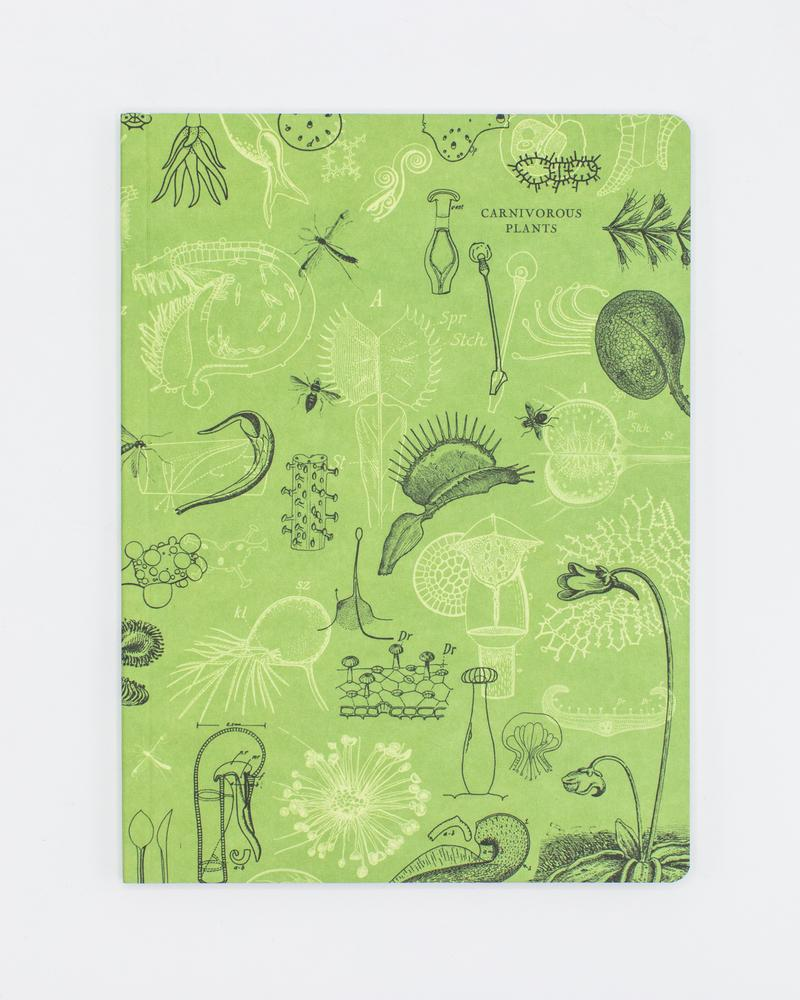 Carnivorous Plants Softcover Notebook - Dot Grid