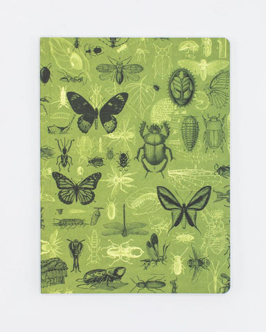 Insects Softcover Notebook - Lined