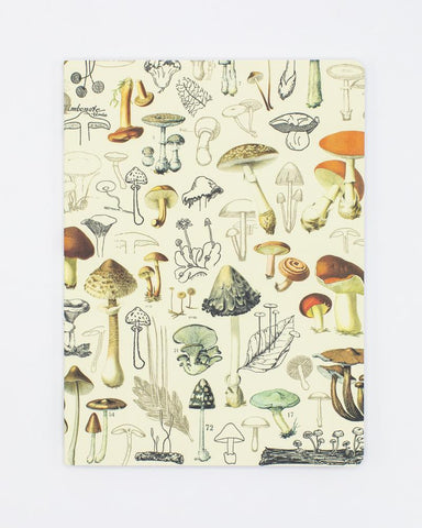 Mushrooms Notebook Softcover - Dot Grid