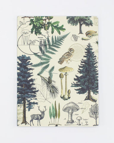 Forest & Trees Softcover Notebook - Lined