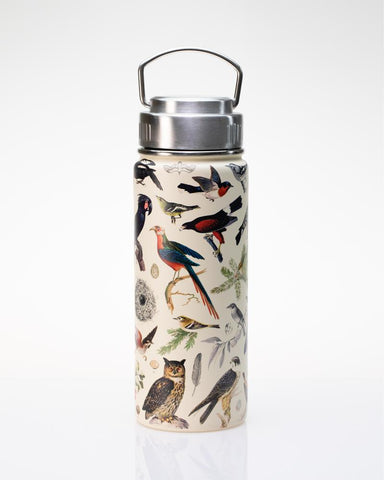 Birds Stainless Steel Vacuum Flask