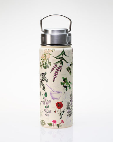 Botanical Pharmacy Stainless Steel Vacuum Flask