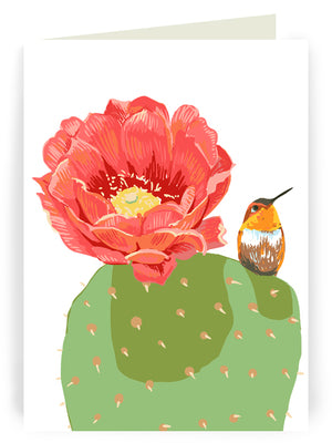 Cacti + Succulents - Six Image Notecard Set