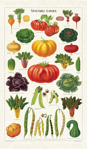 Vegetable Garden Kitchen Towel