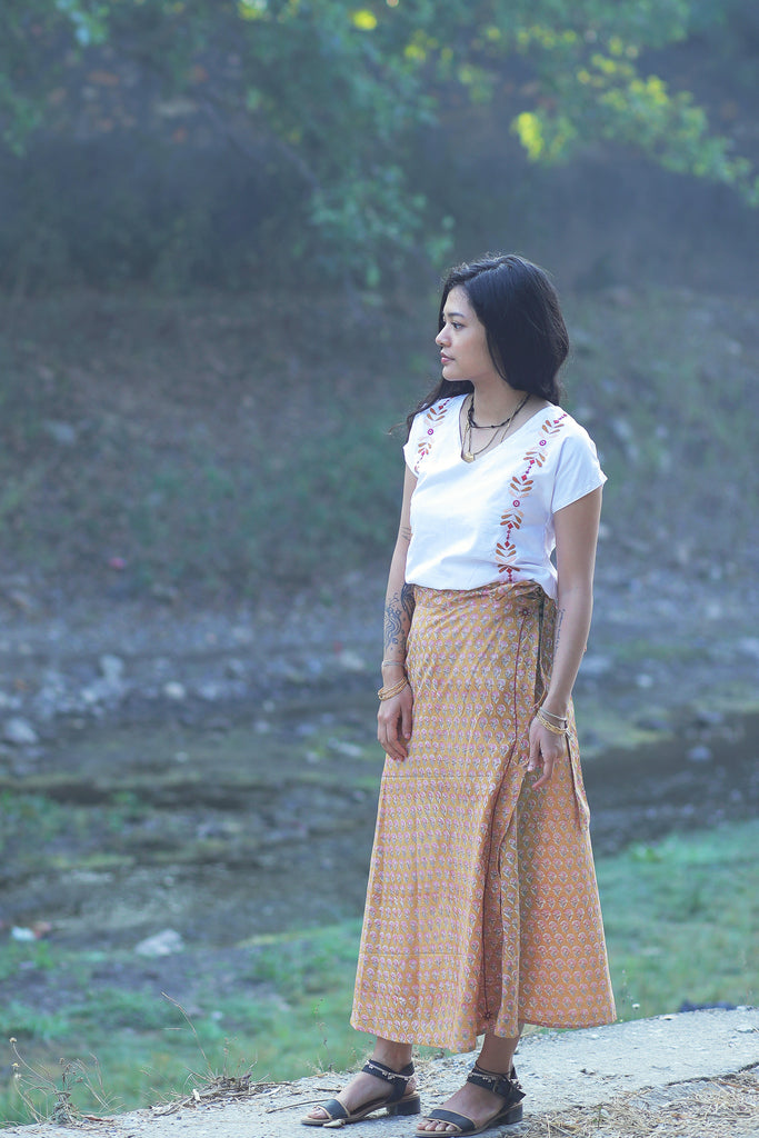 Misha Skirt gold