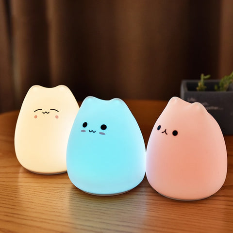 Cute Cat Led Lamp