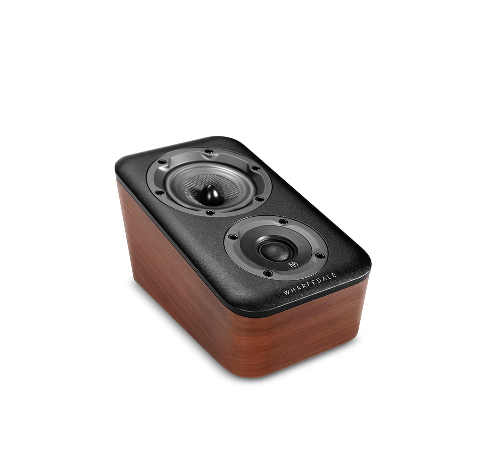 Wharfedale D300 Surround Speaker In Walnut (Top)