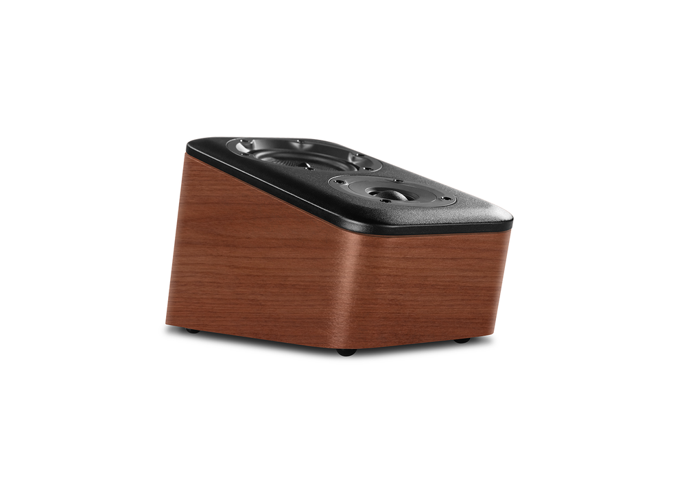Wharfedale D300 Surround Speaker In Walnut (Profile)