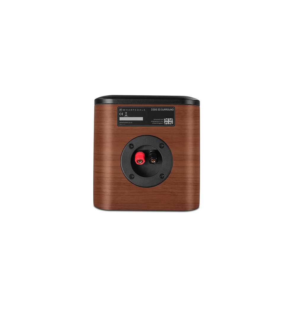 Wharfedale D300 Surround Speaker In Walnut (Binding Post)