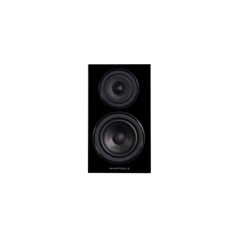 Diamond 12.1 Bookshelf Speakers In Black Ash (Front No Grill)