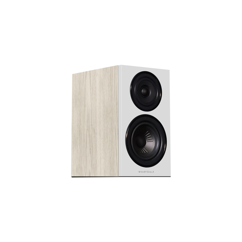 Diamond 12.1 Bookshelf Speakers In Light Oak (Right No Grill)