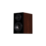 Diamond 12.1 Bookshelf Speakers In Walnut (Left No Grill)
