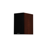 Diamond 12.1 Bookshelf Speakers In Walnut (Left WithGrill)