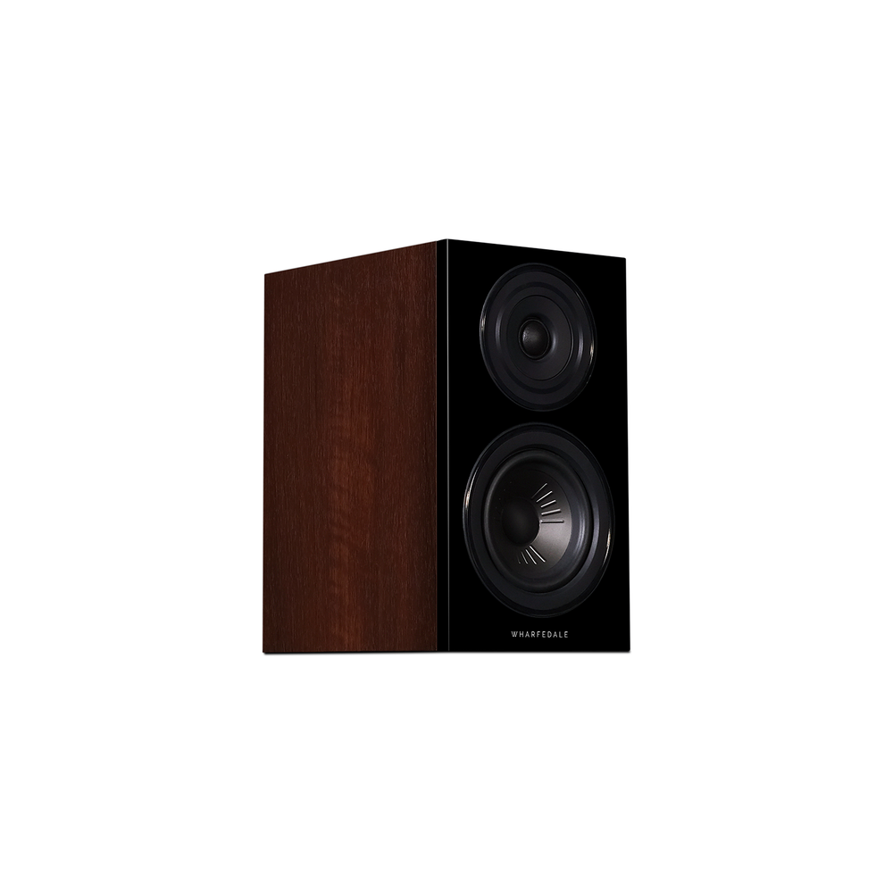 Diamond 12.1 Bookshelf Speakers In Walnut (Right No Grill)