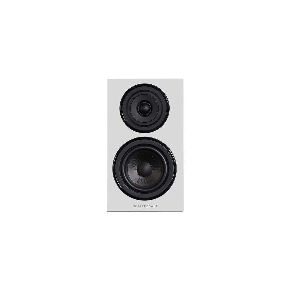 Diamond 12.1 Bookshelf Speakers In White (Front No Grill)