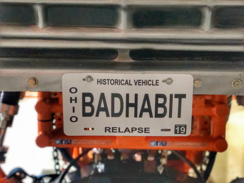 Limited Edition - BAD HABIT License Plate