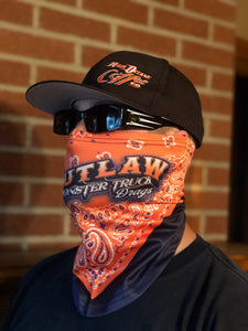 *New Outlaw Monster Truck Drags Face Mask