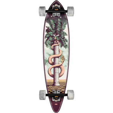 GLOBE PINTAIL THE SENTINEL COMPLETE SKATEBOARD 34""
