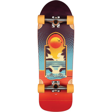 GLOBE APERTURE CULT OF FREEDOM COMPLETE SKATEBOARD 31""