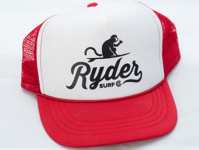 RYDER TRUCKER RED