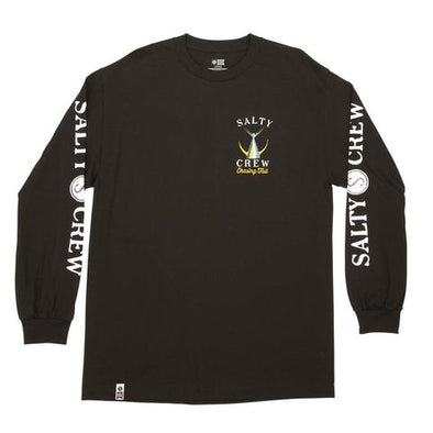 TAILED LONGSLEEVE TEE BLACK