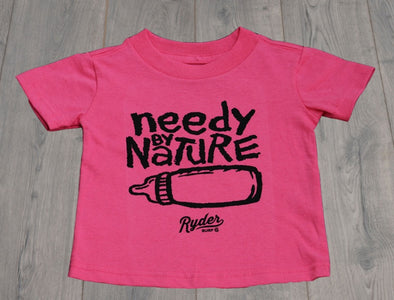 RYDER NEEDY BY NATURE TEE PINK