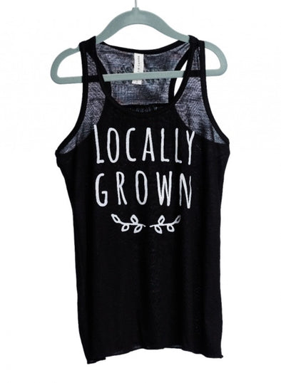 RYDER LOCALLY GROWN TANK BLACK