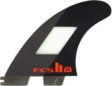 FCS FCS II FILIPE TOLEDO PERFORMANCE CORE THRUSTER TRI-FIN SET