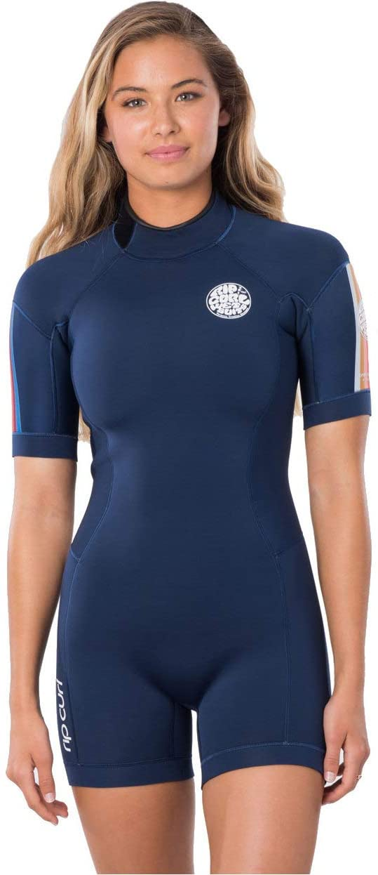 Rip Curl Womens Dawn Patrol 2mm Back Zip Shorty Wetsuit