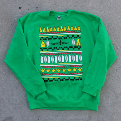 SOUTH COAST ADULTS CHRISTMAS FLEECE SWEATER