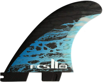 FCS FCS II MATT BIOLOS PC CARBON TRI-QUAD FIN SET
