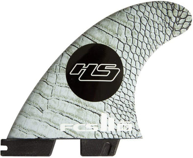 FCS FCS II HS PC CARBON TRI-QUAD FIN SET