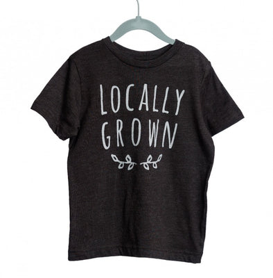 RYDER LOCALLY GROWN TEE SMOKE