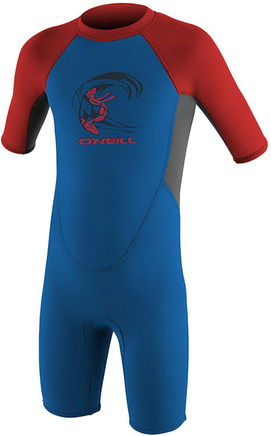 O'Neill Toddler Reactor-2 2mm Back Zip Short Sleeve Spring Wetsuit