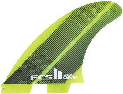 FCS FCS II CARVER NEO GLASS TRI-FIN SET