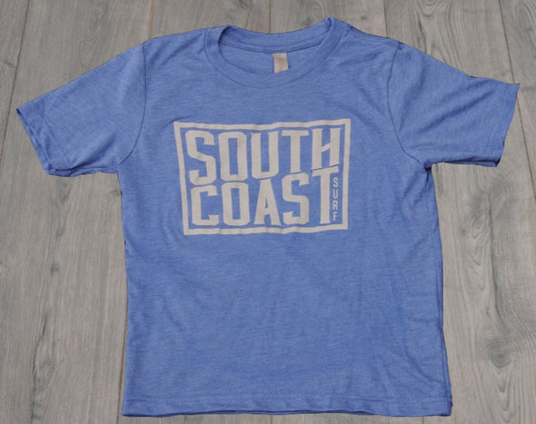 SOUTH COAST YOUTH CAMPER TEE ROYAL