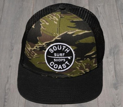 SC PATCH TRUCKER CAMO