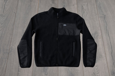 RONNY ZIP BLACK