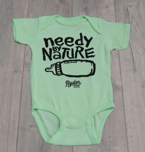 RYDER NEEDY BY NATURE ONESIE MINT
