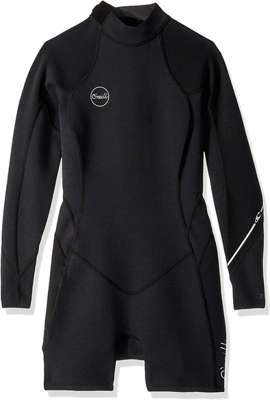 O'Neill Wetsuits Women's Bahia 2/1mm Back Zip Long Sleeve